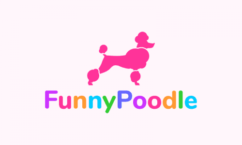 Funnypoodle - E-commerce business name for sale