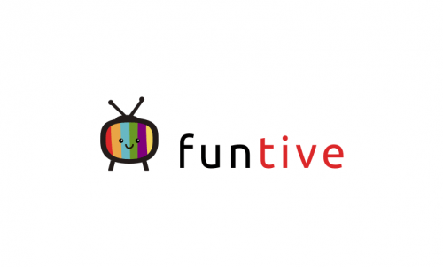 Funtive - Entertainment startup name for sale