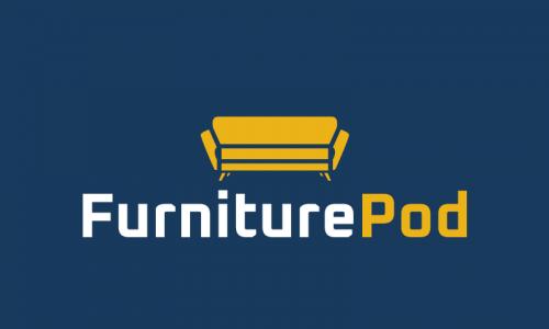 Furniturepod - Interior design company name for sale