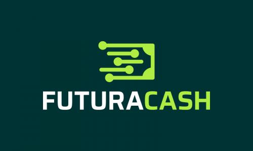 Futuracash - Finance company name for sale