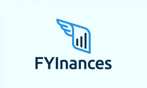 Fyinances - Contemporary business name for sale