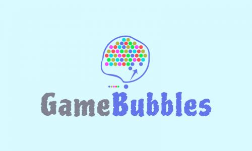 Gamebubbles - Online games startup name for sale