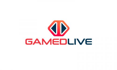 Gamedlive - Online games startup name for sale