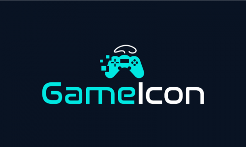 Gameicon - Video games company name for sale