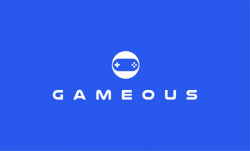 Gameous - Catchy and fun domain name