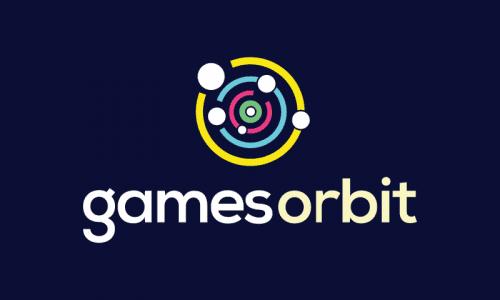 Gamesorbit - Appealing startup name for sale