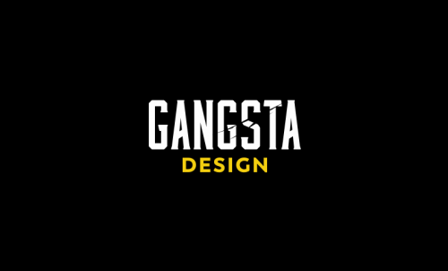 Gangstadesign - Design business name for sale