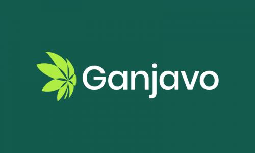 Ganjavo - Retail startup name for sale