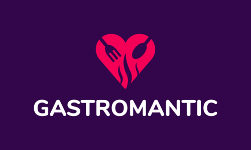 Gastromantic - E-commerce startup name for sale