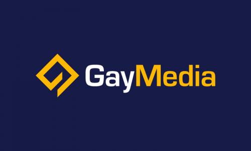 Gaymedia - Marketing startup name for sale