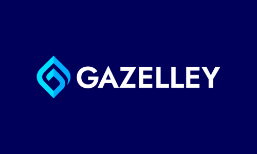 Gazelley - Retail startup name for sale