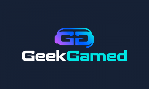 Geekgamed - Video games startup name for sale
