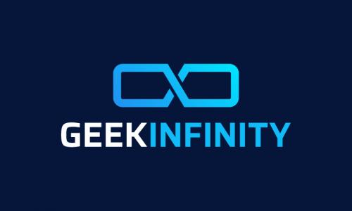 Geekinfinity - Modern company name for sale