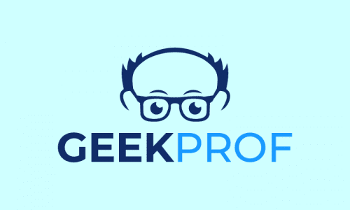 Geekprof - Technology domain name for sale
