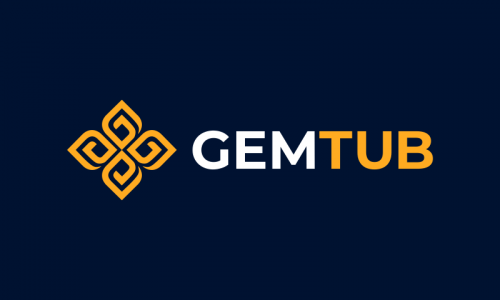 Gemtub - Invented business name for sale
