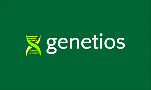 Genetios - Biotechnology company name for sale