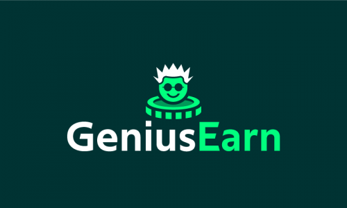 Geniusearn - Technology domain name for sale
