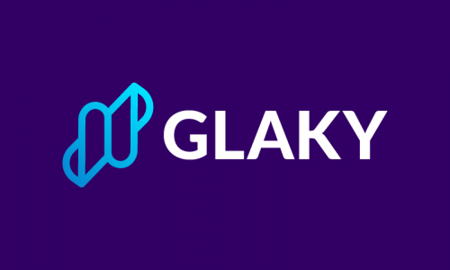 Glaky - Technology domain name for sale