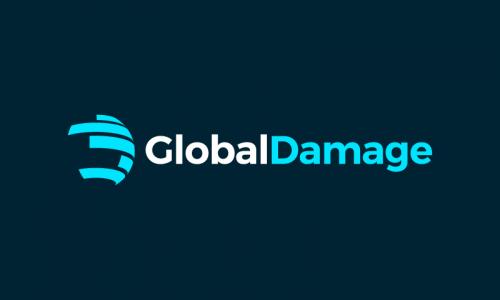 Globaldamage - Biotechnology domain name for sale
