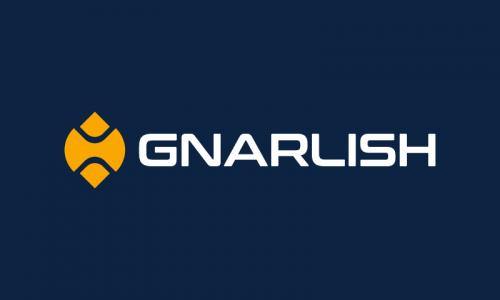 Gnarlish - Healthcare startup name for sale