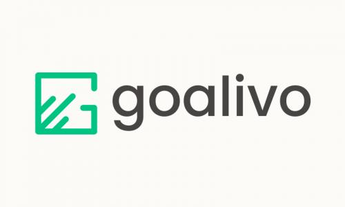 Goalivo - E-commerce startup name for sale