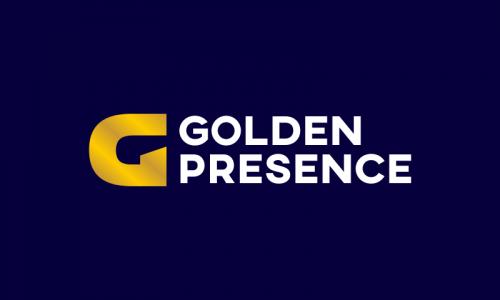 Goldenpresence - Business domain name for sale