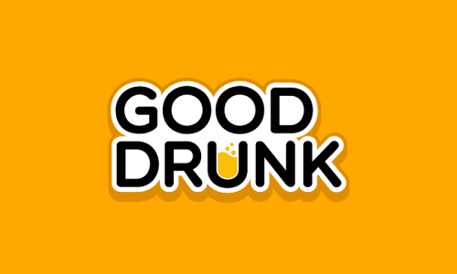 Gooddrunk - Food and drink startup name for sale