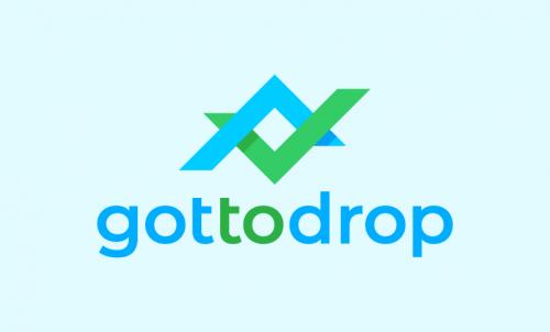 Gottodrop - Marketing startup name for sale