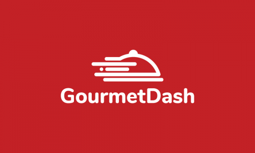 Gourmetdash - Food and drink company name for sale