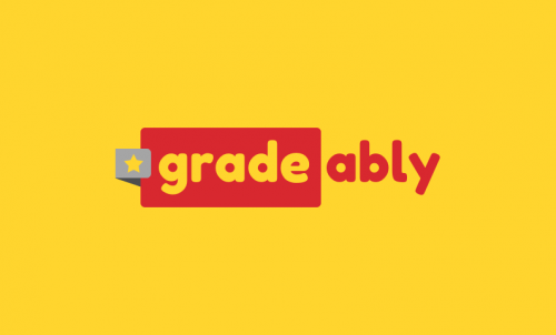 Gradeably - Brand name for a company in the education industry