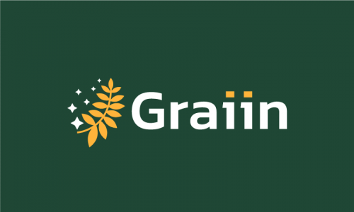 Graiin - Agriculture domain name for sale