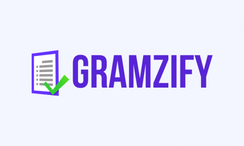 Gramzify - Brandable business name for sale