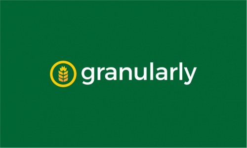 Granularly - Photography startup name for sale