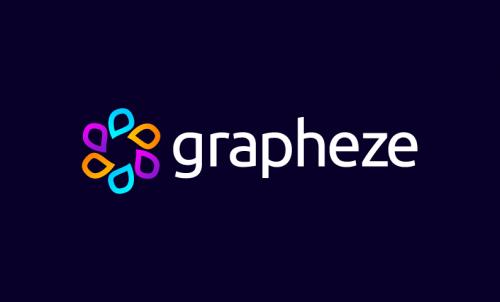 Grapheze - Design startup name for sale