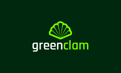 Greenclam - Environmentally-friendly startup name for sale