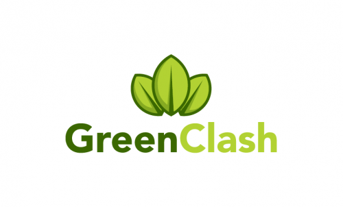 Greenclash - Environmentally-friendly startup name for sale