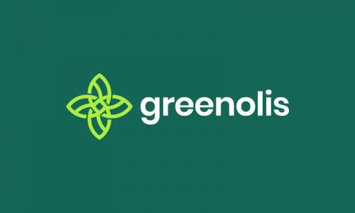 Greenolis - Environmentally-friendly business name for sale