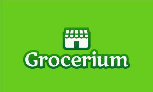 Grocerium - Food and drink company name for sale