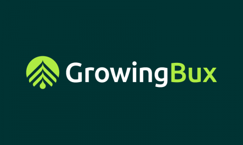 Growingbux - Banking company name for sale