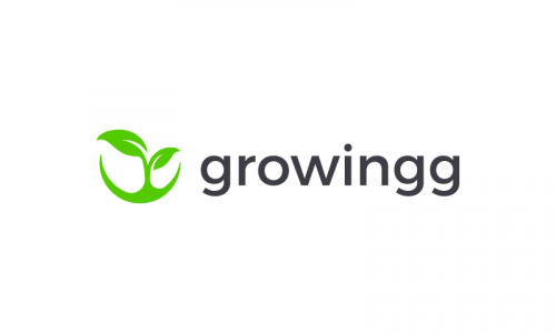 Growingg - Agriculture domain name for sale