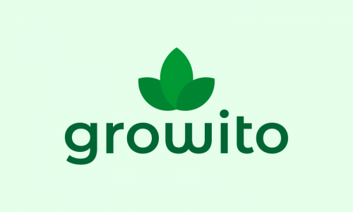 Growito - E-commerce company name for sale