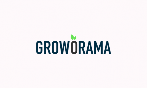 Groworama - Farming startup name for sale