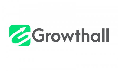 Growthall - Contemporary business name for sale