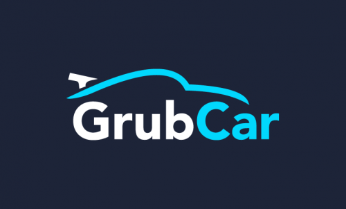 Grubcar - Dining startup name for sale
