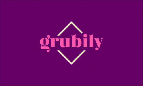 Grubily - Food and drink business name for sale