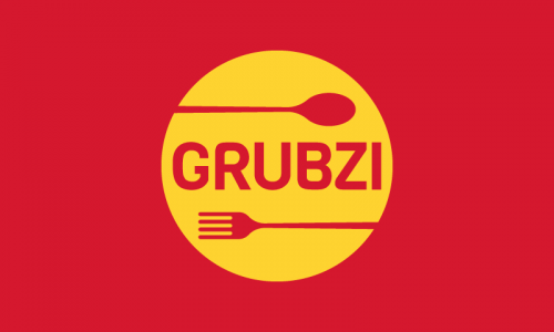 Grubzi - Food and drink startup name for sale