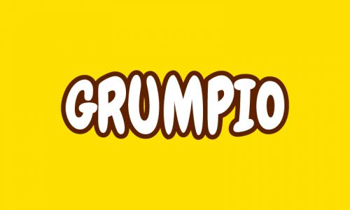 Grumpio - Media domain name for sale