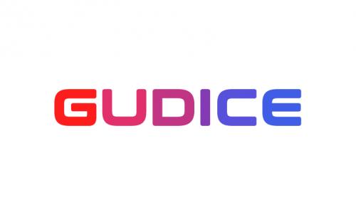 Gudice - Modern startup name for sale
