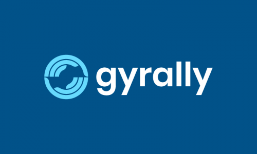 Gyrally - Modern business name for sale