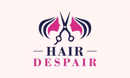 Hairdespair - Beauty company name for sale